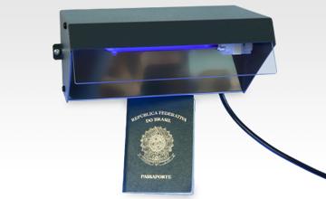 Wall Mounted Uv Lamp : UV-1140C Single lamp ultraviolet document viewer ACO Electronics